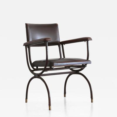 Jacques Adnet Jacques Adnet Leather Armchair