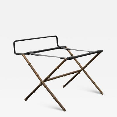 Jacques Adnet Jacques Adnet Luggage Rack