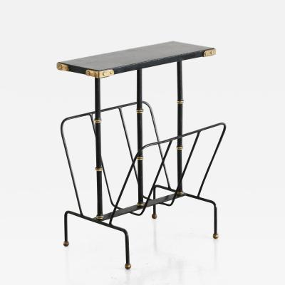 Jacques Adnet Jacques Adnet Magazine Rack Table