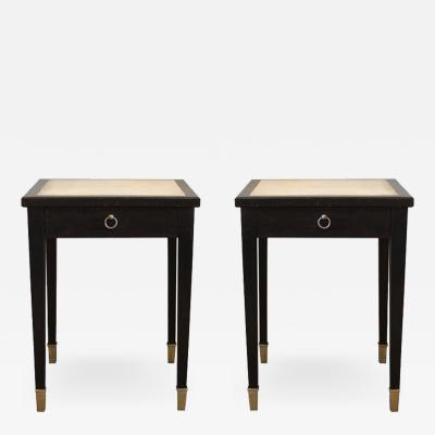 Jacques Adnet Jacques Adnet Parchment Side Tables France 1940