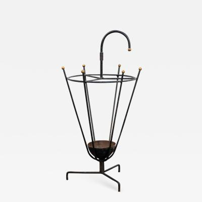 Jacques Adnet Jacques Adnet Style Umbrella Holder