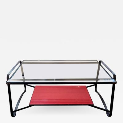 Jacques Adnet Jacques Adnet Two Tiered Table