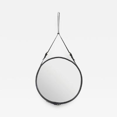 Jacques Adnet MIRROR DESIGNED BY JACQUES ADNET FOR HERM S