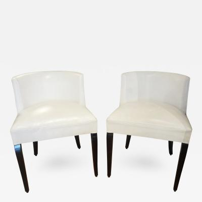Jacques Adnet Pair of Chairs by Jacques Adnet 1930s