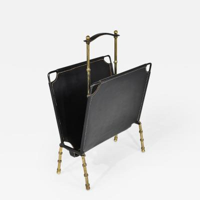 Jacques Adnet magazine holder