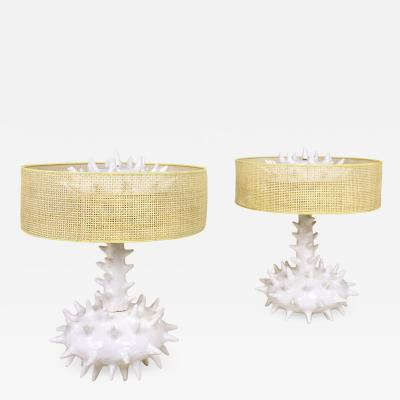 Jacques Darbaud Pair of Jacques Darbaud Ma na Gozannet Table Lamps 2016 France