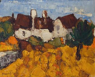 Jacques Daufin French Impressionist Oil Painting