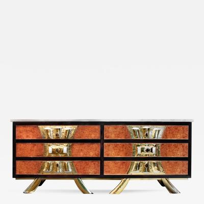 Jacques Duval Brasseur Jacques Duval Brasseur Rare and Exceptional Chest of Drawers 1970s
