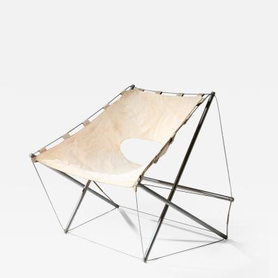 Jacques Henri Varichon Zig Zag Lounge Chair by Jacques Henri Varichon