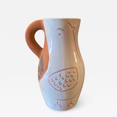 Jacques Innocenti Ceramic jar vase France Vallauris 1950s