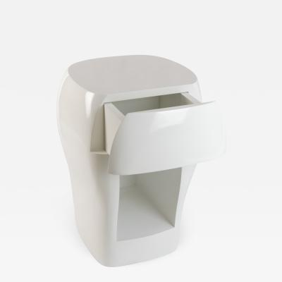 Jacques Jarrige BEDSIDE TABLES with drawer by Jacques Jarrige Aubrac