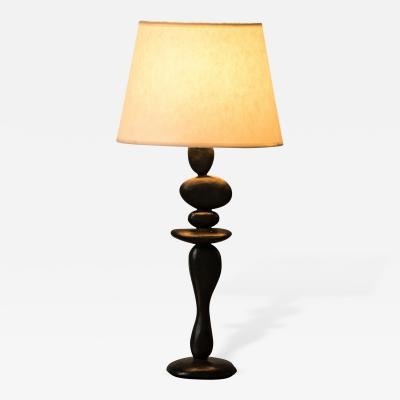 Jacques Jarrige Bronze Table Lamps by Jacques Jarrige