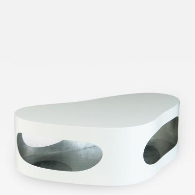 Jacques Jarrige Coffee Table Cloud Corsica in lacquer by Jacques Jarrige