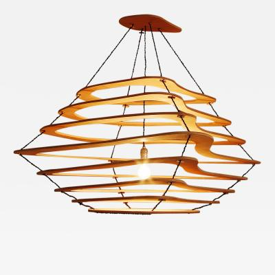 Jacques Jarrige Meanders Chandelier by Jacques Jarrige
