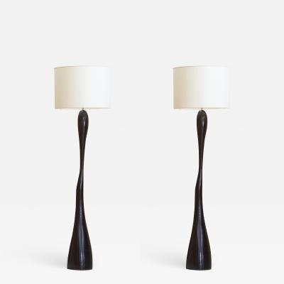 Jacques Jarrige Pair of Floor lamps Leda by Jacques Jarrige
