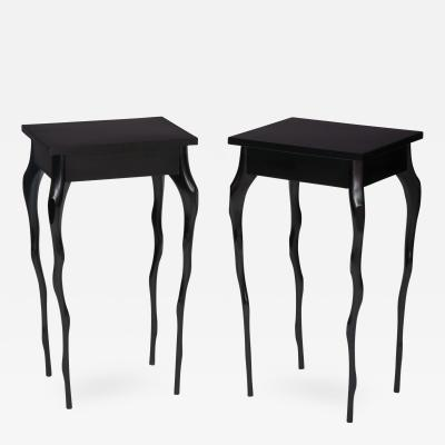 Jacques Jarrige Sculpted Side Tables by Jacques Jarrige Torquemada