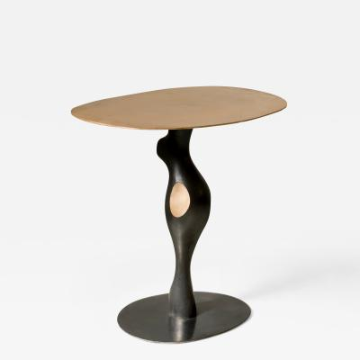 Jacques Jarrige Side Table Sculpture in Bronze by Jacques Jarrige Bella