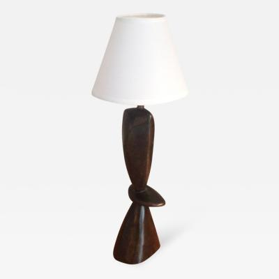 Jacques Jarrige Small Bronze Table Lamps by Jacques Jarrige