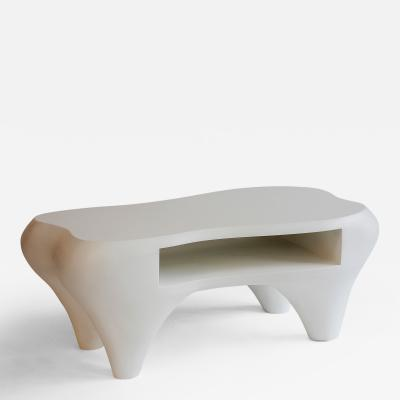 Jacques Jarrige Toro Coffee Table with Shelf Unique piece
