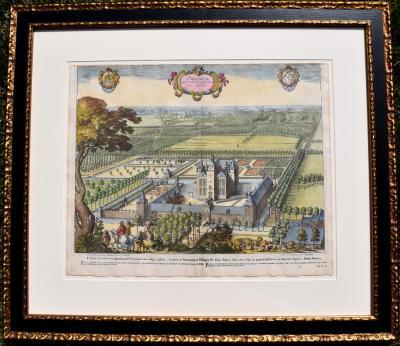 Jacques LeRoy Dutch Castle Anterior View Castrum Dom De Percke et Eelewijt pas Anterior
