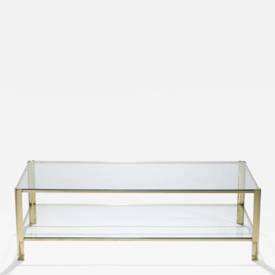 Jacques Quinet Bronze coffee table Jacques Quinet for Broncz 1960s
