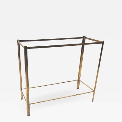 Jacques Quinet Jacques Quinet 2 tier gold bronze console