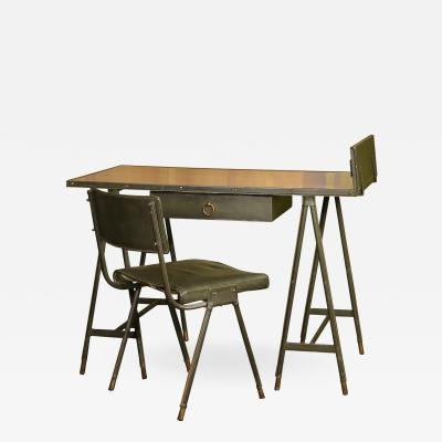 Jacques Quinet Jacques Quinet Desk and Chair France 1960 1965