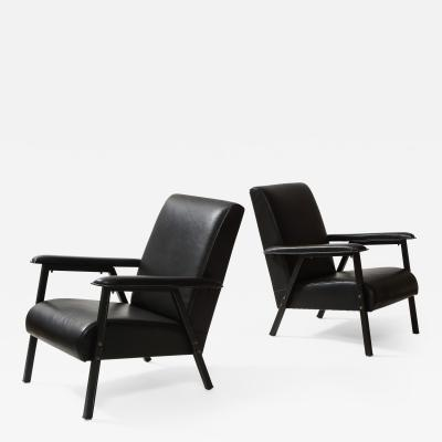 Jacques Quinet PAIR OF ARMCHAIRS BY JACQUES QUINET