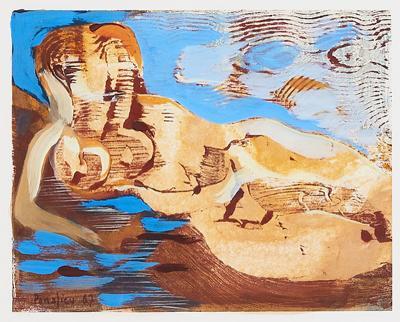 Jacques de Panafieu Painting by Jacques de Panafieu