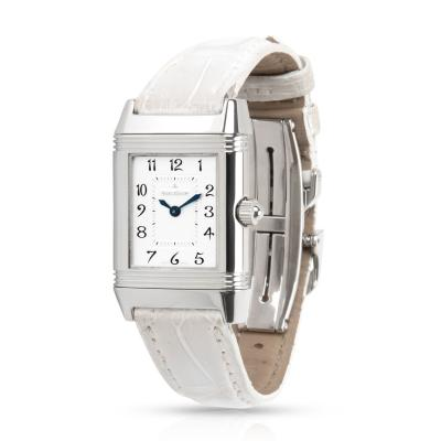 Jaeger LeCoultre Duetto 266 8 11 Women s Watch in Stainless Steel
