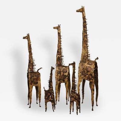 James Anthony Bearden Giraffes 2015