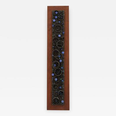 James Anthony Bearden James Bearden Segment Wall Sculpture