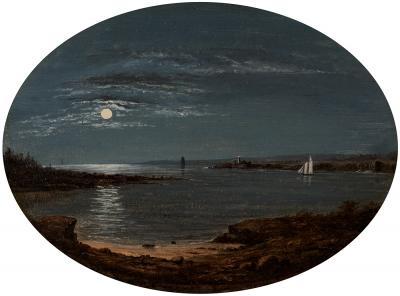 James Augustus Suydam Moonlit Coast