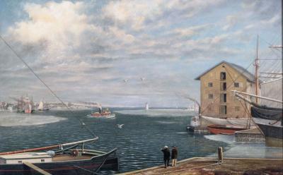 James Bonar Massachusetts Harbor of Mattapoisett