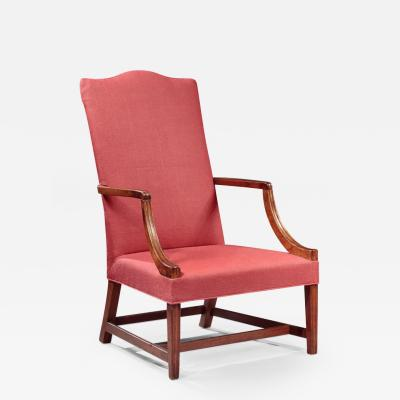 James Campbell Rare Federal Lolling Chair made by James Campbell