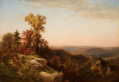 James David Smillie View in the Catskill Mountains 1870