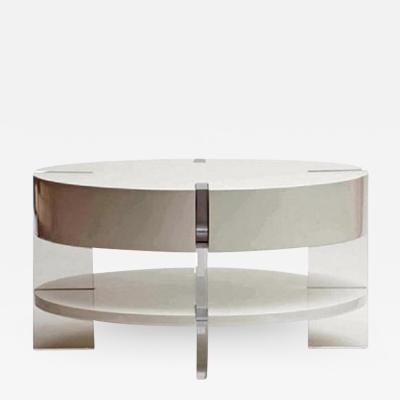 James Duncan Lucite Lacquer Coffee Table