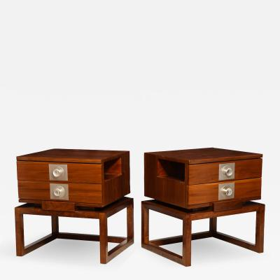 James E Dolena Custom Bedside Tables by James Dolena