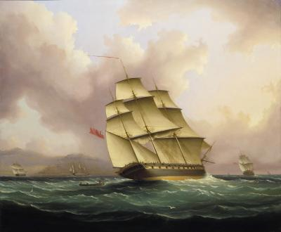 James Edward Buttersworth Off Barbados