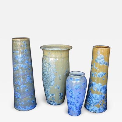 James Fox Collection of Crystalline Glazed Ceramics