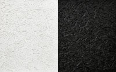 James Hayward Abstract Diptych 17