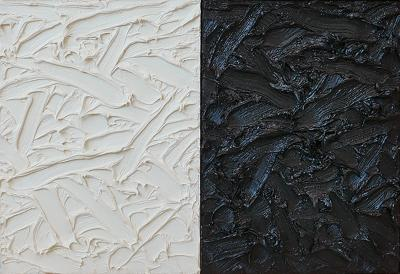 James Hayward Abstract Diptych 9