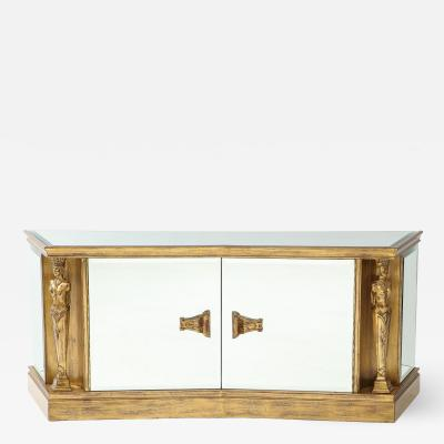 James Mont Caryatid Cabinet by James Mont
