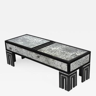 James Mont Coffee Table with Retractable Top by James Mont