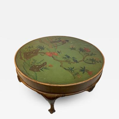 James Mont HAND PAINTED CHINOISERIE COFFEE TABLE IN THE MANNER OF JAMES MONT