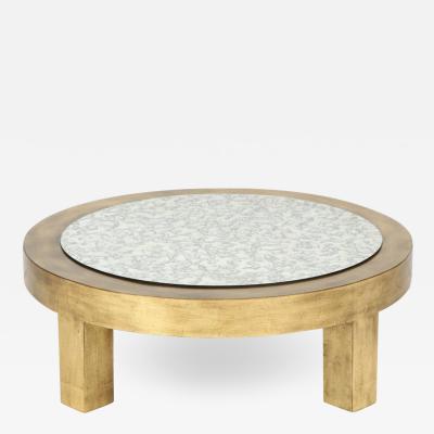 James Mont James Mont Gold Leaf Coffee Table