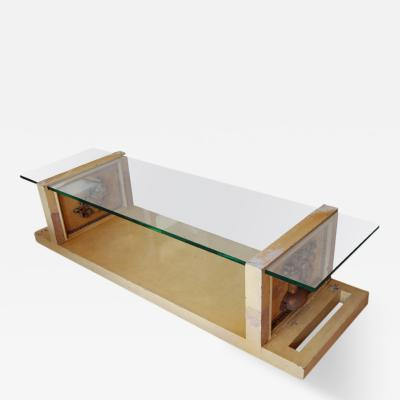 James Mont Signed James Mont Coffee Table