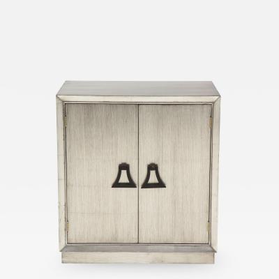 James Mont Silver Leafed Cabinet