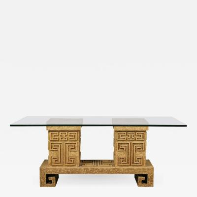 James Mont T 110 Interesting Asian Modern Dining Table in the Manner of James Mont