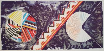 James Rosenquist Alphabet Avalanche